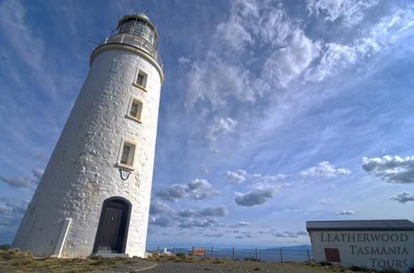 ブルーニー島灯台 タスマニア