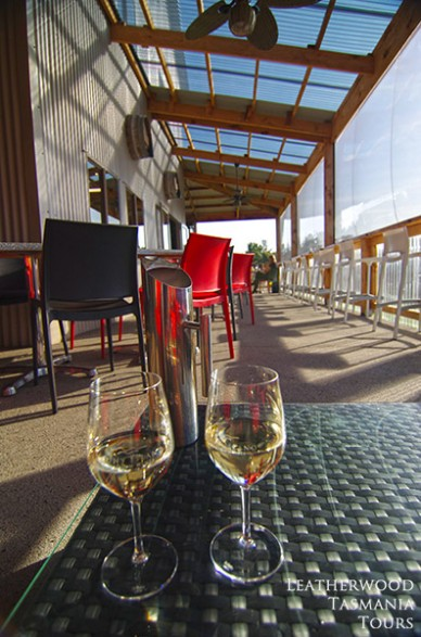 タスマニアグルメ: ブルニーアイランドワイン ブルニー島
