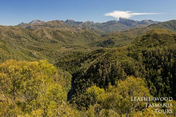 ドナギーズヒル展望台:フランクリン-ゴードンワイルドリバース国立公園