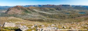 セントクレア湖タスマニア ルフス山
