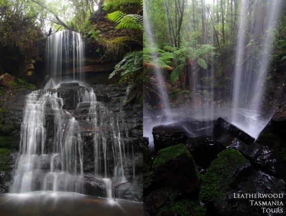 シャワーの滝 タスマン半島
