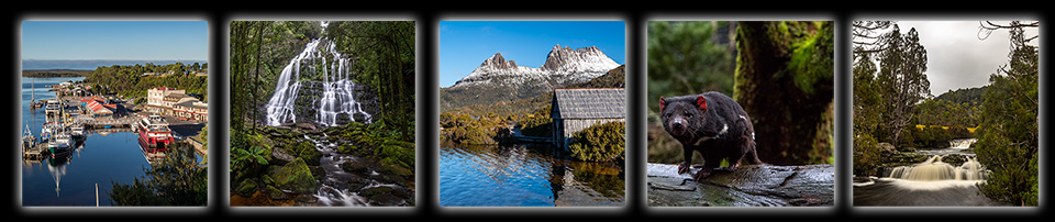 西タスマニア ストローン・クレイドルマウンテン 3泊4日ツアー